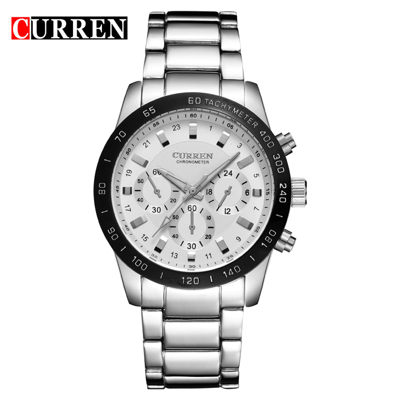 CURREN 8017 Men Watches Top Brand Luxury Men Military Wrist Watches Full Steel Men Sports Watch Waterproof Relogio Masculino(China (Mainland))
