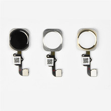 Factory Price Binmer NEW For iPhone 6 Home Button Touch ID Sensor Key Flex Cable Replacement Oct31(China (Mainland))