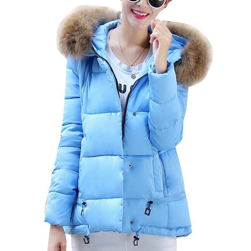 Light Blue Down Jacket | Fit Jacket