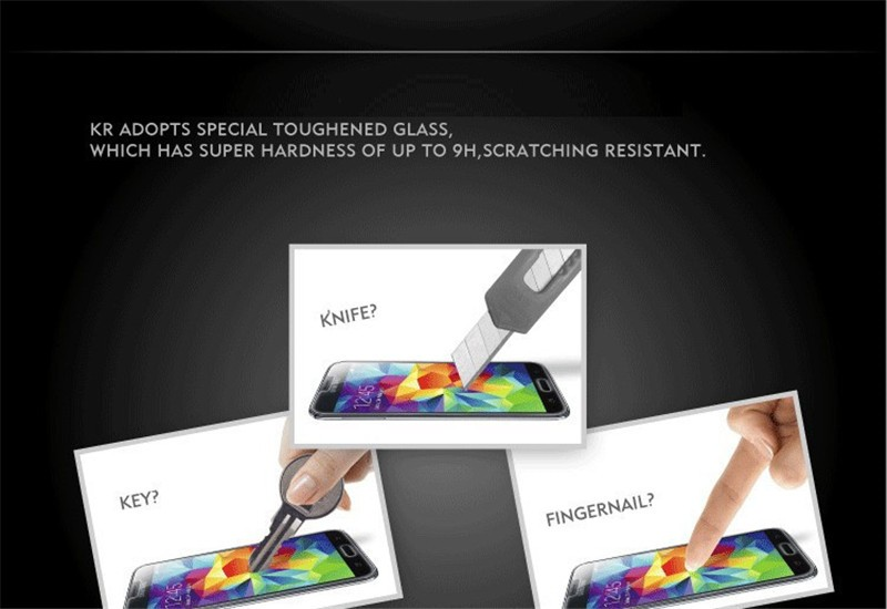 100% Original 9H 0.26mm High Clear Explosion-proof Front LCD Tempered Glass For Lenovo A1000 A 1000 Screen Protector Glass+Gift (4)