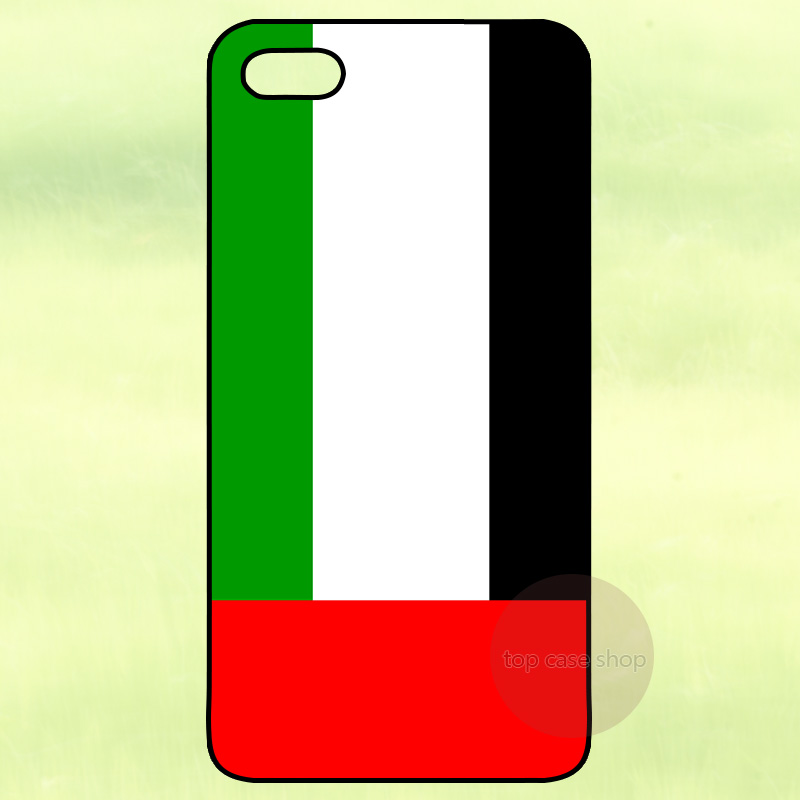 United Arab Emirates Flag Cover Case for iPhone 4 4S 5 5S 5C 6 Plus iPod Touch Samsung Galaxy S3 S4 S5 Mini S6 S7 Edge Note 2 3(China (Mainland))