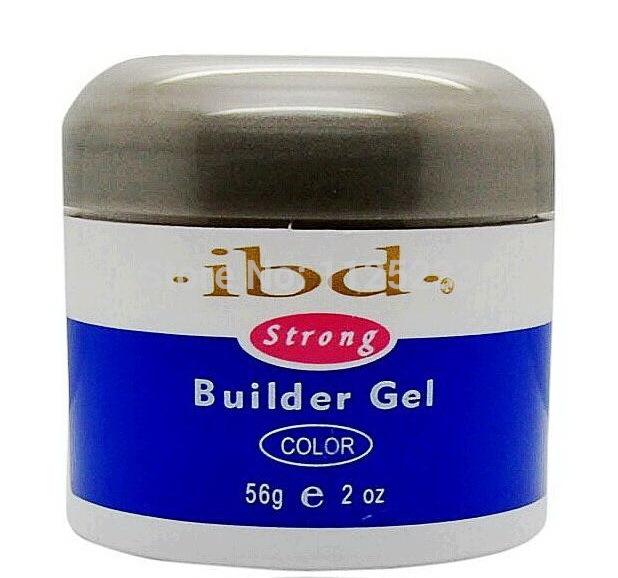 2oz / 56g Nail IBD Gel UV Builder unghie glue Model Nail Art Pink Clear White Beauty Strong for manicure polish gelpolish(China (Mainland))