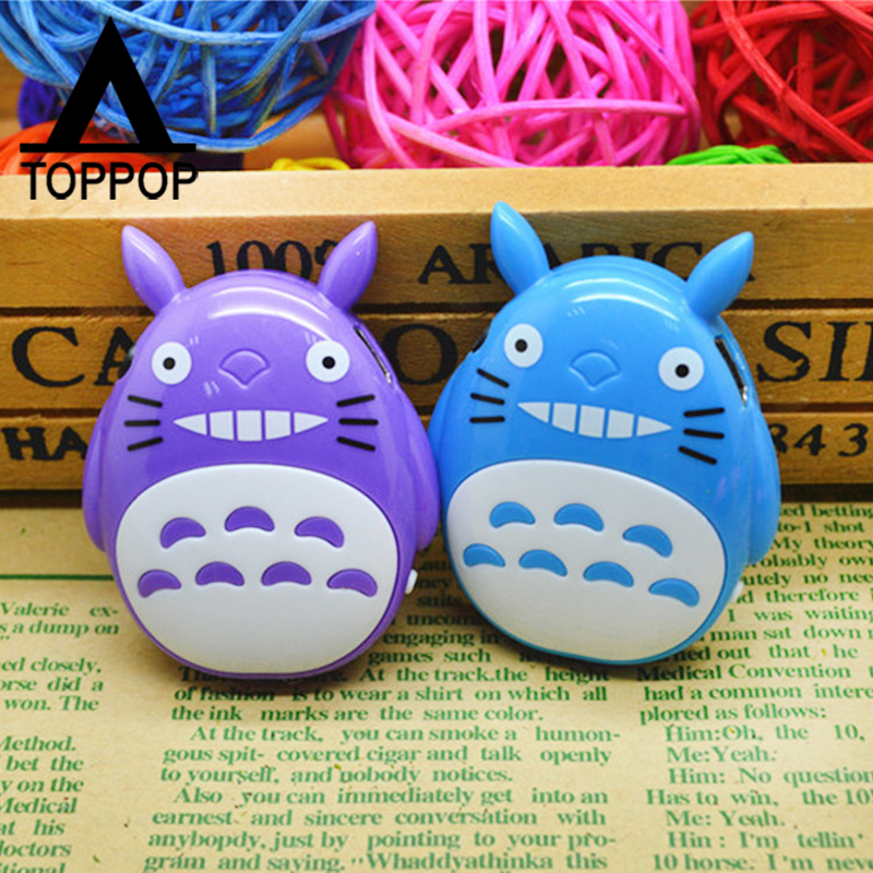 Mini Lovely Cute Cartoon Totoro Small MP3 Player Music Media Player Memory TF Card Slot Business Promotion Birthday Gift(China (Mainland))