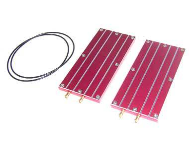 51306 Aluminum Battery Cooling Board (2pcs) with rc boat(China (Mainland))