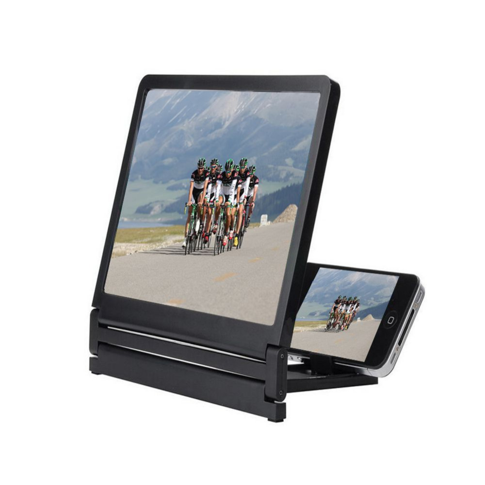 for Various Cell Phones Best 3D Enlarged Screen Mobile Phone video amplifier Stand Bracket(China (Mainland))