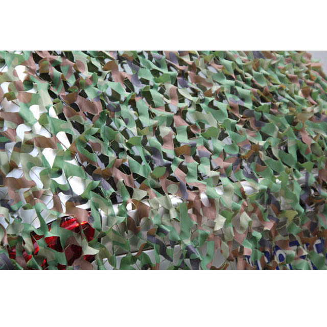 3mx1.5m Polyester Fabric Camouflage Netting for Hunting Shooting Fishing Hide Net Fire Retardant -Army Green(China (Mainland))