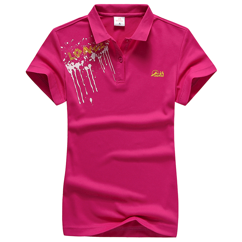 2015 New Fashion Polo Shirt Women Polo Men Short Sleeve