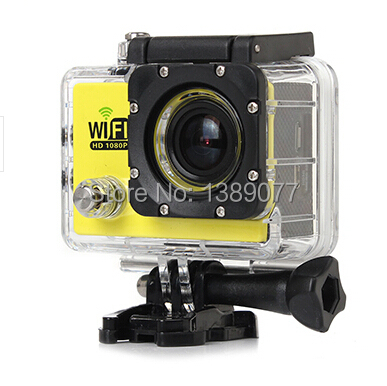 "SJ6000 WIFI Waterproof 30M Action Sport Camera camcorder 12MP Full HD 1080P 30FPS 2.0""LCD Diving Camera like go pro style(China (Mainland))"