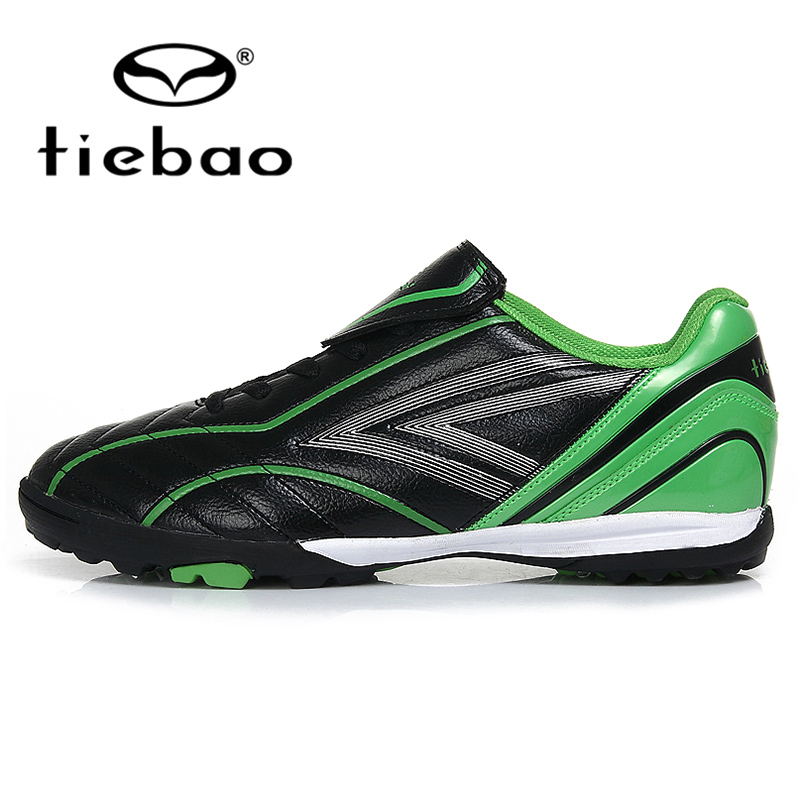 TIEBAO Professional Outdoor Football Boots Adults Men Women TF Turf Rubber Sole Athletic Training Soccer Shoes botas de futbol(China (Mainland))