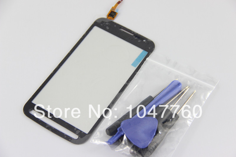 Touch Screen Digitizer Glass Repair Part for Samsung Galaxy S4 Active Mini i8580 free tools(China (Mainland))