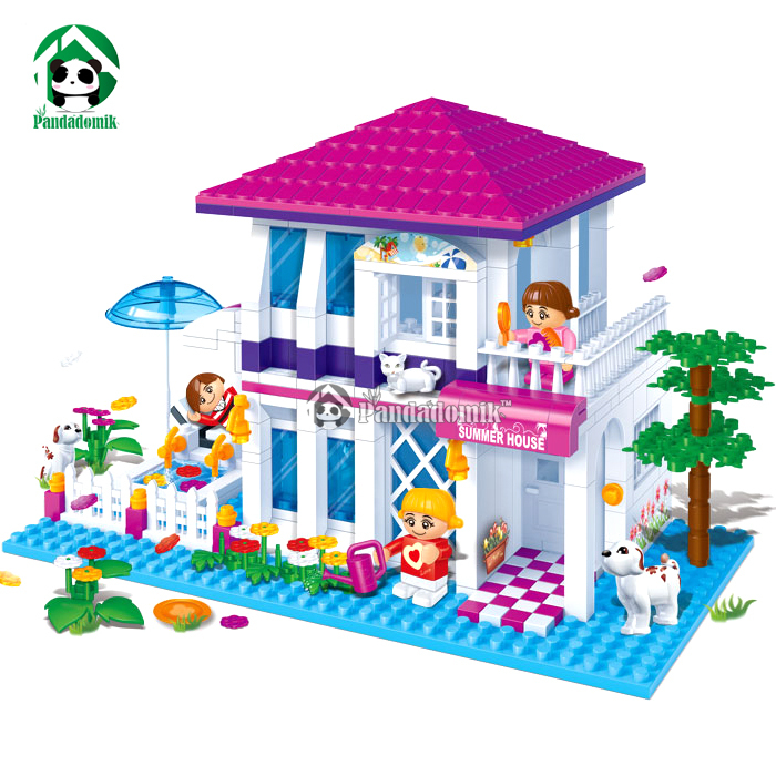Summer-House-Building-Blocks-Compatible-With-Lego-Friends-425-Pcs-3-Action-Toy-Figures-Bricks