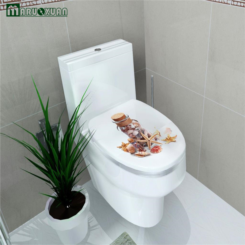 Wall Stickers Home Decor DIY Bathroom Toilet Stickers Waterproof Home Decoration Mural Adesivos De Paredes Swimming Pool Decals(China (Mainland))