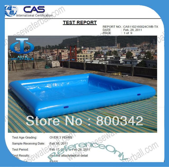 6x6m professionnel piscine gonflable dans piscine et for Accessoire piscine professionnel