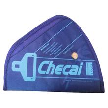 Creative Car Child Safety Belt Adjuster Resistant Belt Protector Shave Belt Protect Baby Seat Belt Padding Color Blue