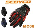 Authentic Scoyco MC08 Motorcycle Glove Full Finger Motor Protective Your Finger In Cycling M L XL