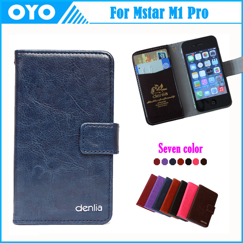 Mstar M1 Pro Case Factory Price 7 Colors Fashion Dedicated Cow Genuine Leather Phone Slip-resistant Exclusive Cover +Tracking