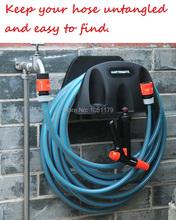 Free Shipping !!! Garden Wall-mountable Water Hose Holder Spray Nozzle Hanger Organizer(China (Mainland))