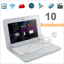 10 1 inch Android laptop notebook VIA8880 Dual Core 1G 4G Android 4 2