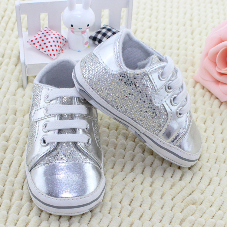 2015 Bling shoes soft Boys and Girls baby shoes skidproof toddler shoes children shoes kids sneakers boots(China (Mainland))
