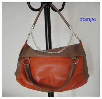 Hot new 2015 Fashion women's Sewing Thread pu Shoulder Bags women tassel bag Casual messenger Handbag  Free shipping