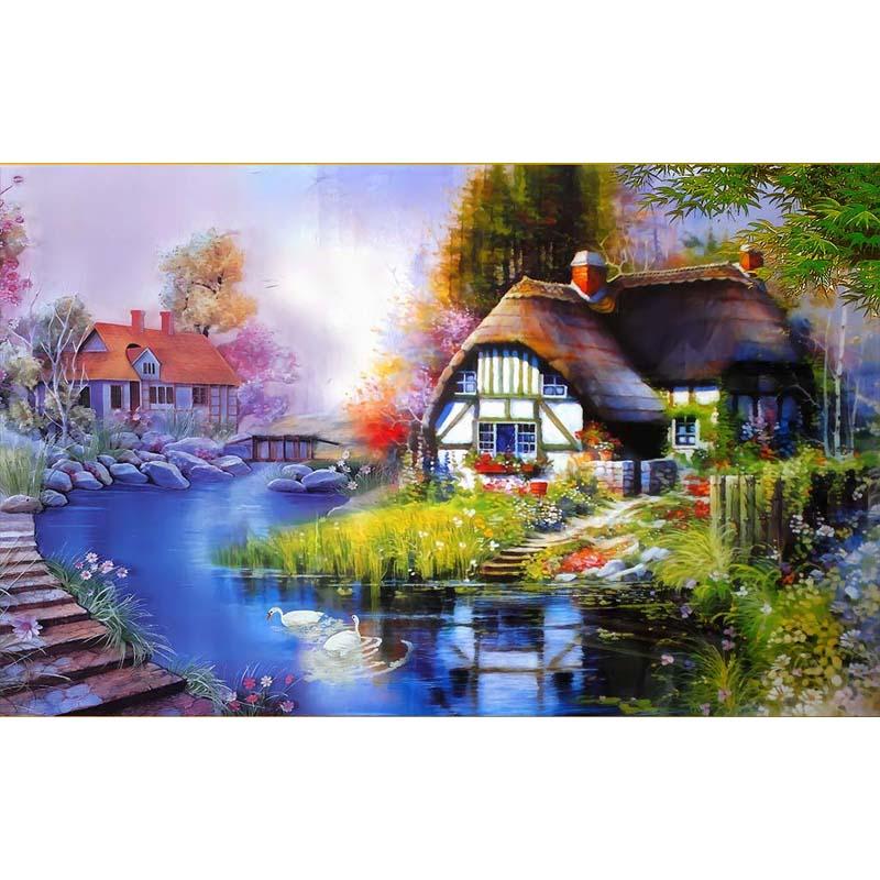 Comprar casa de campo de paisaje de la - Paisajes de casas de campo ...