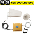 GSM 900 4G LTE 1800 Dual Band Signal Booster GSM 900mhz 1800mhz Mobile Signal Repeater GSM