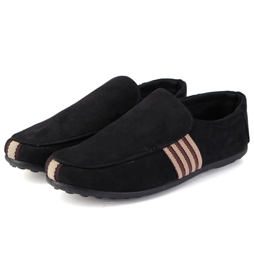 Гаджет  Mens Shoes New 2015 Fashion Round Toe Autumn Loafers Soft Leather Men Zapatillas Zapatos Hombre Sapatos Slip-On Antiskid Shoe None Обувь