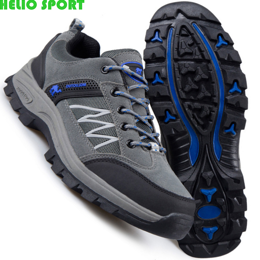 men outdoor shoes breathable climbing shoes men casual shoes 308z(China (Mainland))