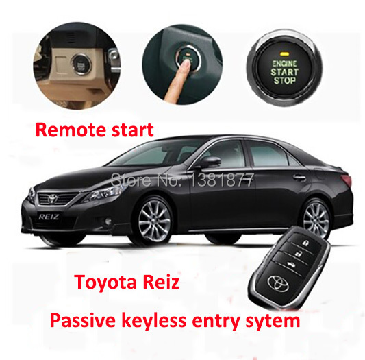 Car accessories car alarm push button remote start keyless