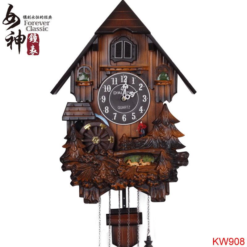 Cuckoo Clock In Living Room