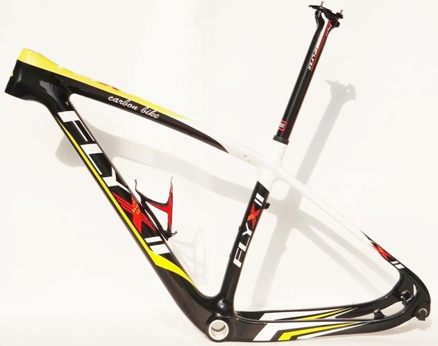 "FLYXII - Full Carbon 29ER MTB Mountain Bike Frame + Seatposst + Water Bottle Cage 15.5"", 17.5"" , 19"" FRAME(China (Mainland))"