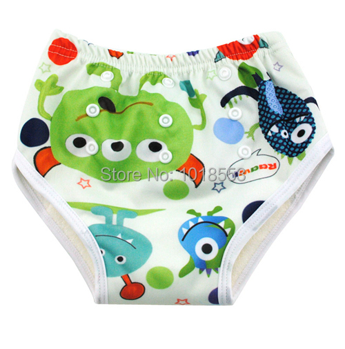 free shipping sassy baby's boy girl infant toilet pee potty training pants cloth diaper children's underwear(China (Mainland))
