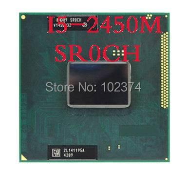 I5 2450M cpu Core I5-2450M Laptop CPU 3M 3.10GHz SR0CH Notebook Original disassemble Processor(China (Mainland))