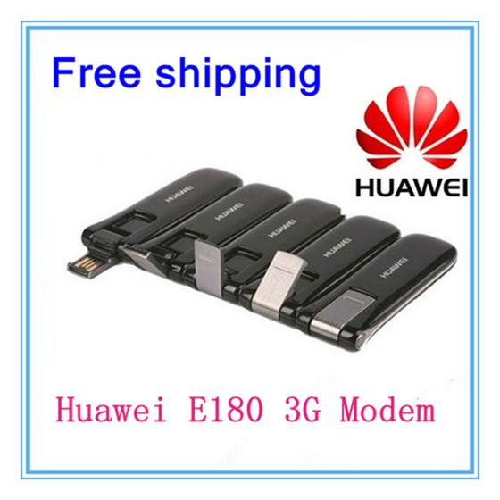Unlocked Huawei E180 3G Usb Wireless Modem Wholesale,10 pcs/lot DHL free shipping(China (Mainland))