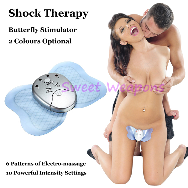 Гаджет  Free Shipping Slimming Massager Shock Therapy, Butterfly Dance, Sex Toys, Electro Sex Kit, E-Stimulation, Sex Products None Красота и здоровье