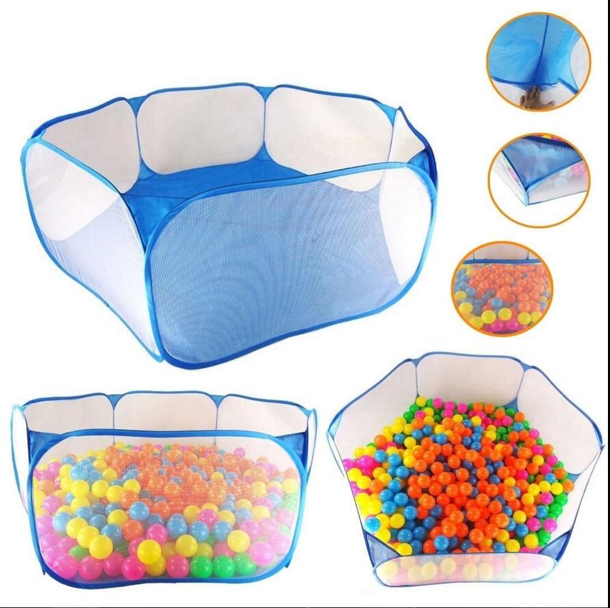 Kids Portable Pit Ball Pool Outdoor Indoor Baby Tent Playhut Have Fun Foldable Xmas Gift Hexagon Baby Playpen(China (Mainland))