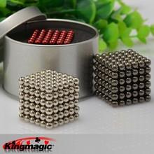 Hot vente Buckyballs Neocube 5 mm Neo Cube Magic toy Puzzle aimant bloc Magnetic Balls éducation jouets Box + métallique + sac + carte(China (Mainland))