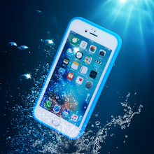 Super Waterproof Case For iPhone 6 6S / iphone 6plus 6splus Smart Tough Screen Soft TPU Underwater Dust proof Shockproof Cover(China (Mainland))