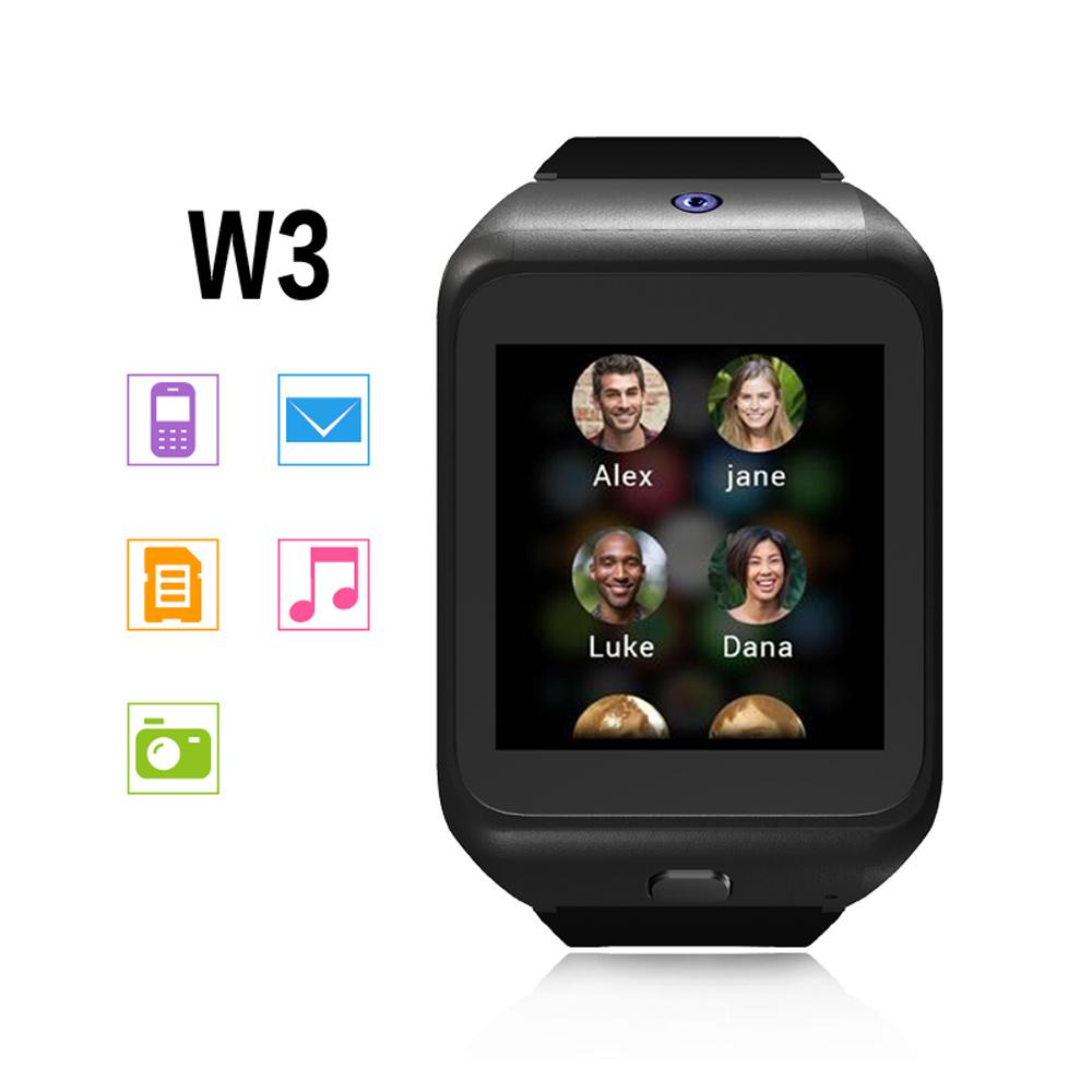 Smart Watch & Cellphone Support Phone Book Calls Text Message Music Calculator Camera Phone Wristwatch with Bluetooth Earphones(China (Mainland))
