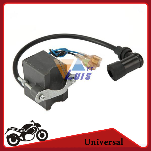 12V CDI Ignition Coil for 50cc 60cc 80cc 2-Sstroke Engine Motorcycle Motor Bike Motorizded Bicycle Free Shipping(China (Mainland))