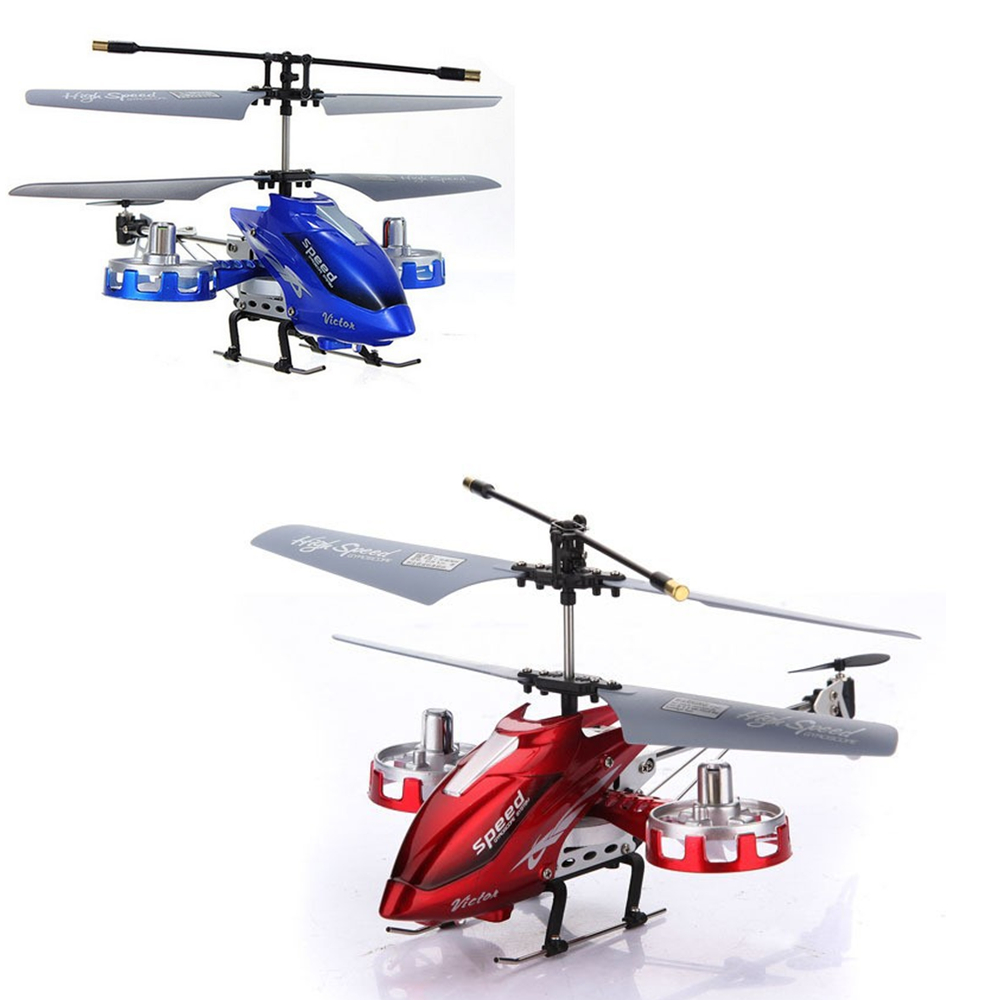 4 in Love M302 ZT008 4 Channel Infrared Remote Control RC Helicopter With Gyro Model Blue And Red(China (Mainland))