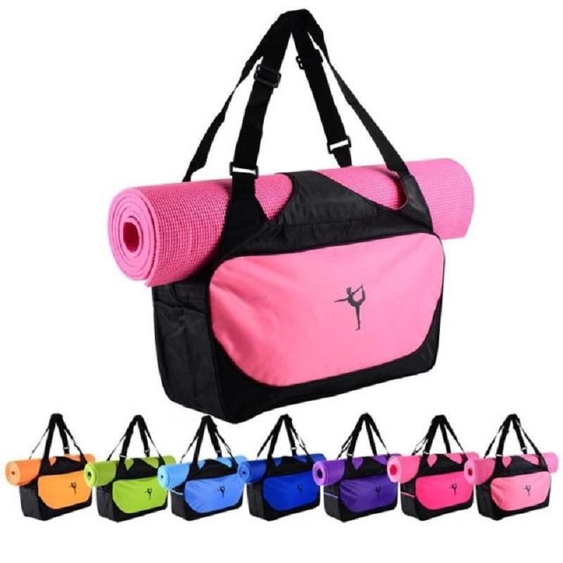 Multifunctional Yoga bag gym mat bag yoga backpack Waterproof Yoga Pilates Mat Case Bag Carriers (Yoga mat not including)(China (Mainland))
