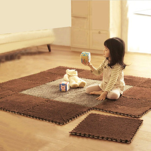 Patchwork floor mats doormat magic cube child table wool carpet middlebury creepiness - melody's cheap home store