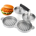 Aluminum Burger Press Hamburger Maker Non Stick Cakes Patty Mold Ideal for BBQ Grill Accessories DIY