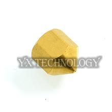 3d printer accessories 0.4mm copper nozzle extruder print head for Budaschnozzle V.2