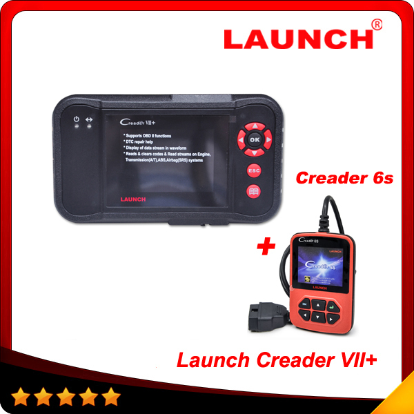 2015 Super Auto Code Scanner Launch Creader VII + Creader 7+ =CReader Professional CRP123 Launch CRP123 + Creader 6s as gift(China (Mainland))