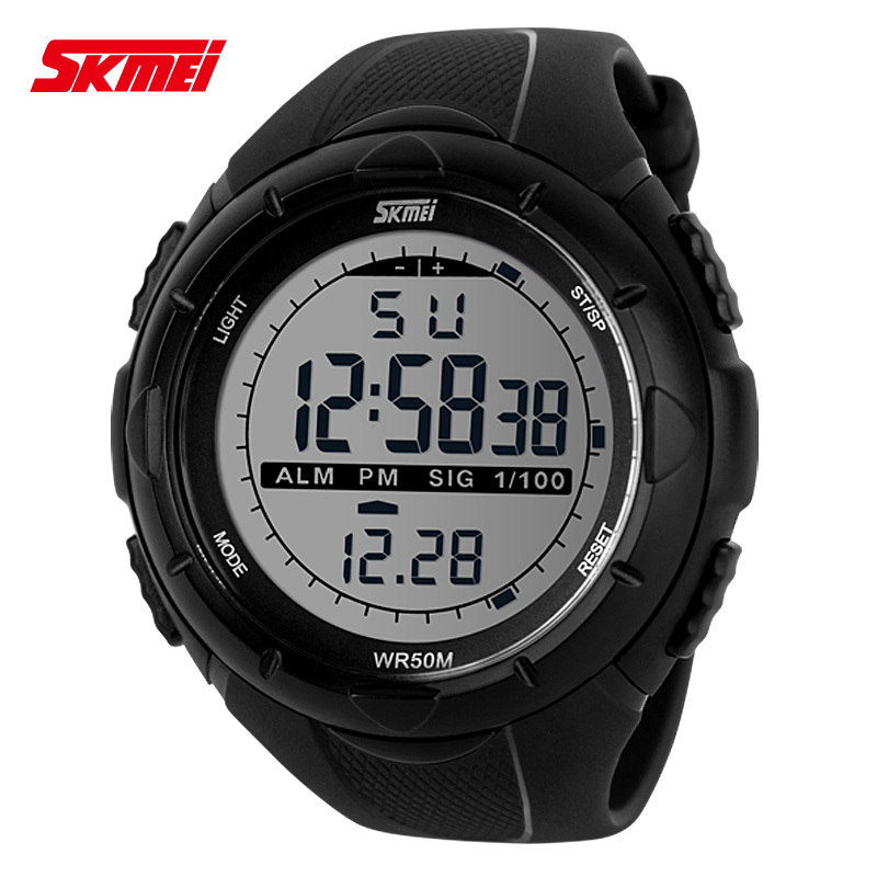 Best Selling Brand SKMEI Men Sport LED Digital Watch Fashion Military Multifunctional Wristwatches 5ATM Water Resistant ZBG3024(China (Mainland))