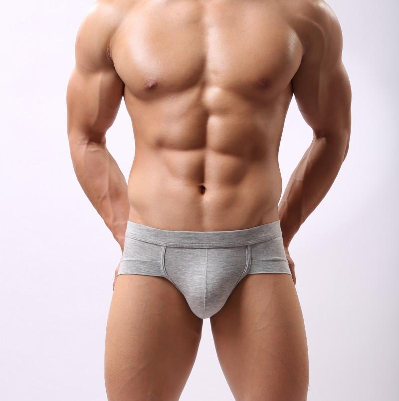2015 New Sexy Boy Man U Convex Pouch Shorts Men s Male Modal Comfortable Briefs Underwear