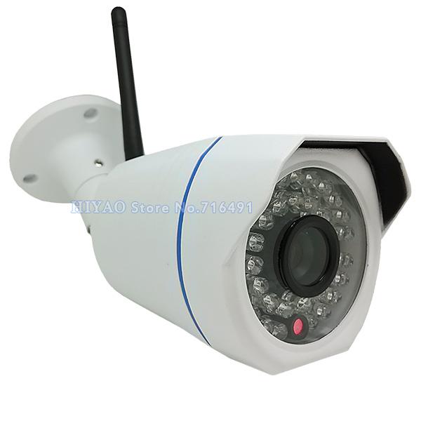 2 Pieces IP Camera WiFi H.264 Video Surveillance Wireless CCTV Camera 720P HD MiniWaterproof Outdoor Security Camera(China (Mainland))