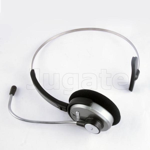 Free drop Shipping Headband Wireless Cordless Computer Bluetooth Headset Headphone for MSN Skype BH3010 with retail box(China (Mainland))